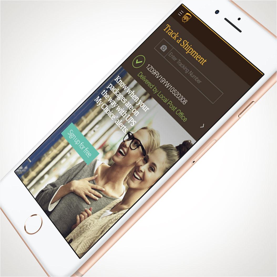 UPS iPhone App