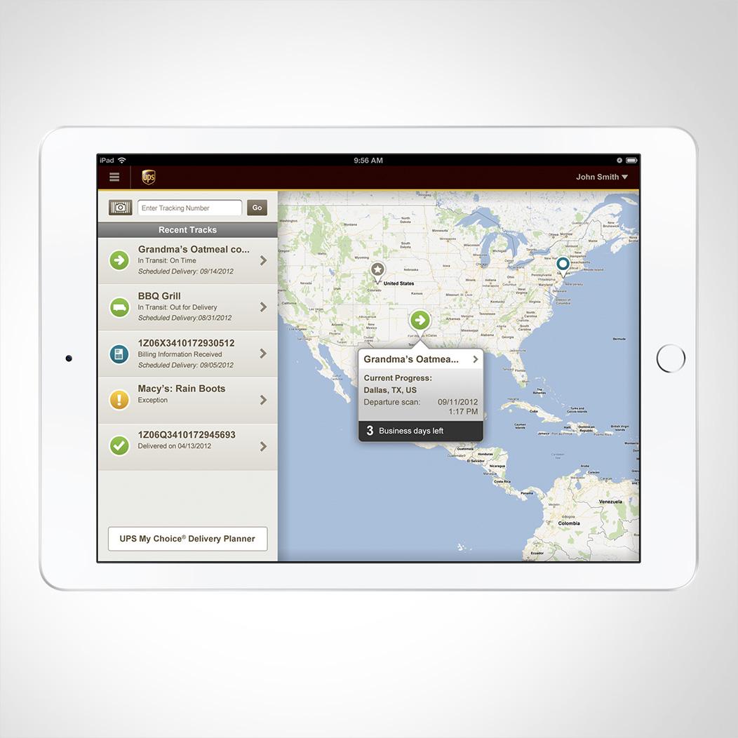 UPS iPad App